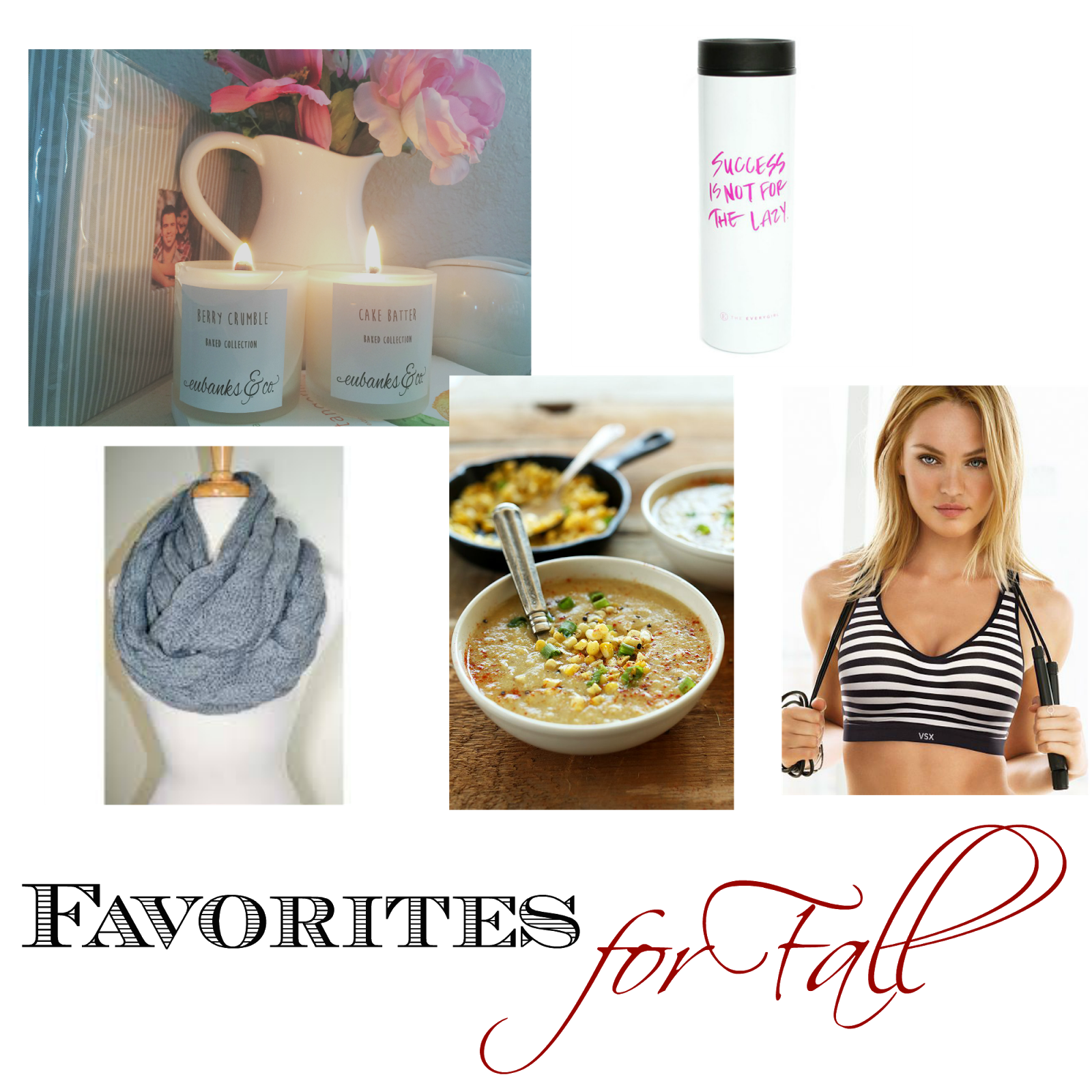 fall favorites; corn soup; vsx