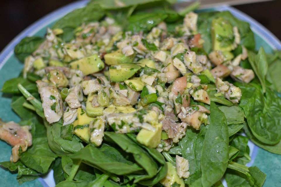 ... Recipe Reviews: Chicken and Avocado Salad with Wasabi-Lime Dressing