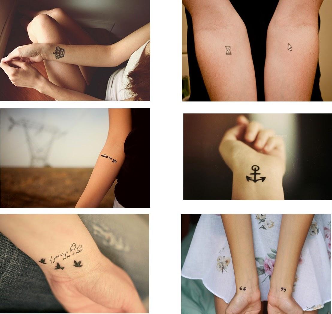 tatuagem pequenas