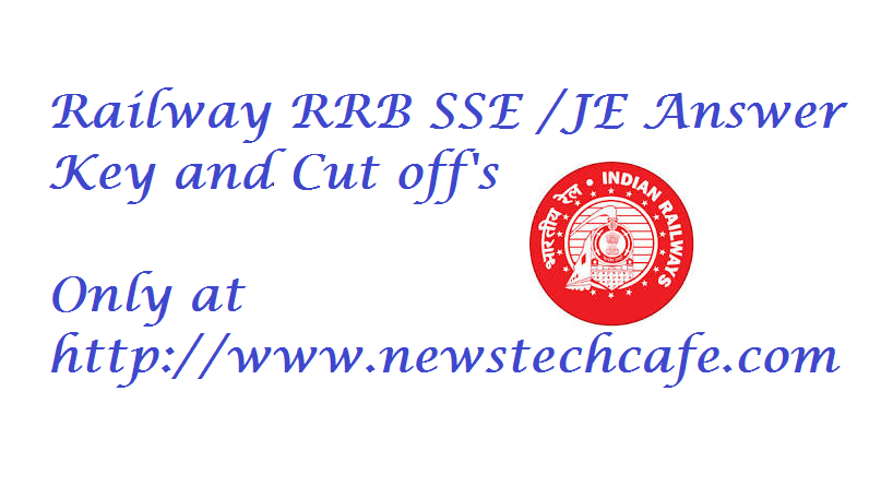 Railway Recuitment Board JE and SSE 2015 previous year paper download