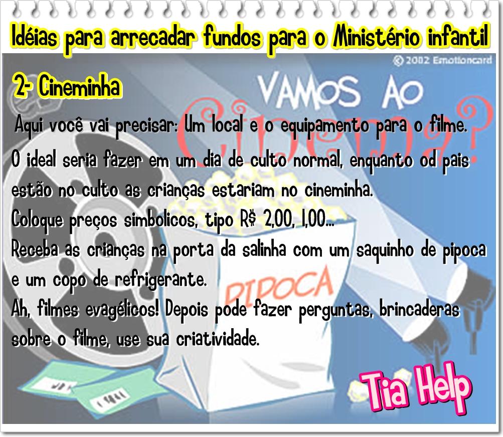 Amado Recursos para Ministério Infantil: Idéias para arrecadar fundos  CI42