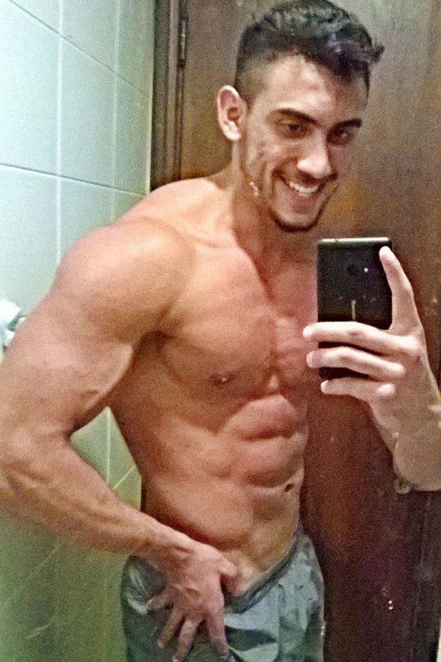 Israel Yasbek já ganhou três quilos com o jejum intermitente. Foto: Arquivo pessoal