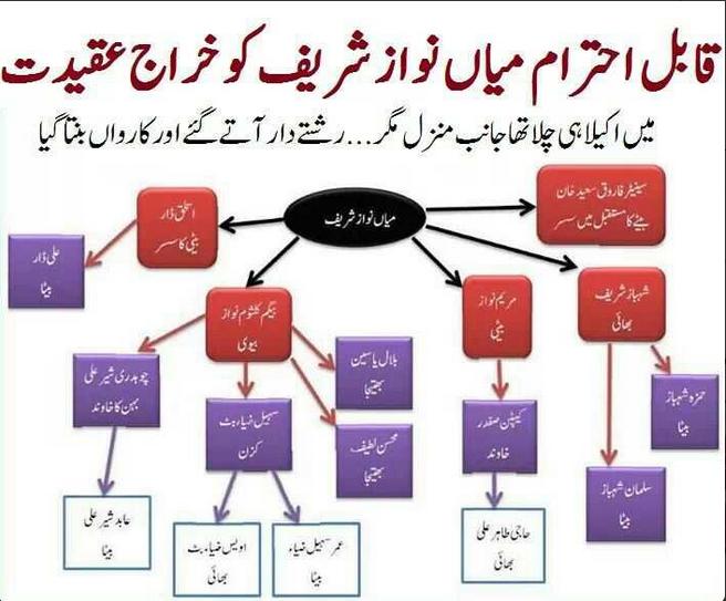 Nawaz Sharif Relatives All Over Government ~ Asif Zardari Bhutto