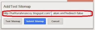 Tips Cara Mengirim dan Menguji Sitemap ke Web Master Google, Tips Blog, Tips Seo