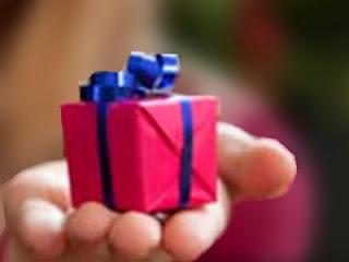Hadiah kecil - ilustrasi