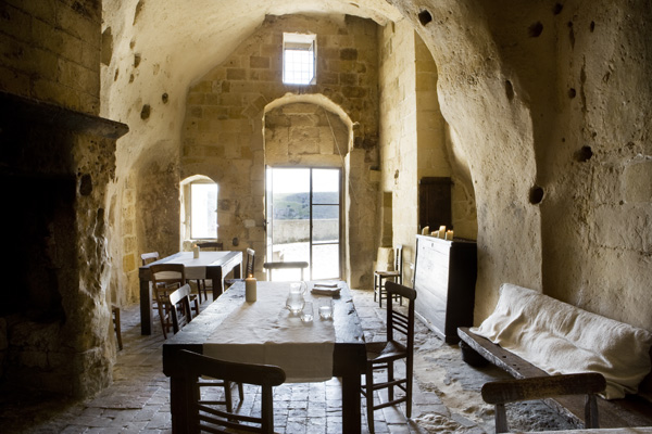 Italian ancient stone house