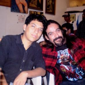 SERGIO ALEJANDRO PEÑA Y HUGO MAYA, SOBRINO Y TÍO.