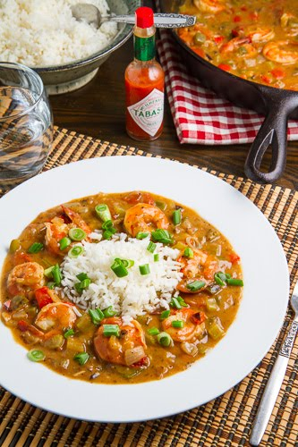 Shrimp Etouffee on Closet Cooking