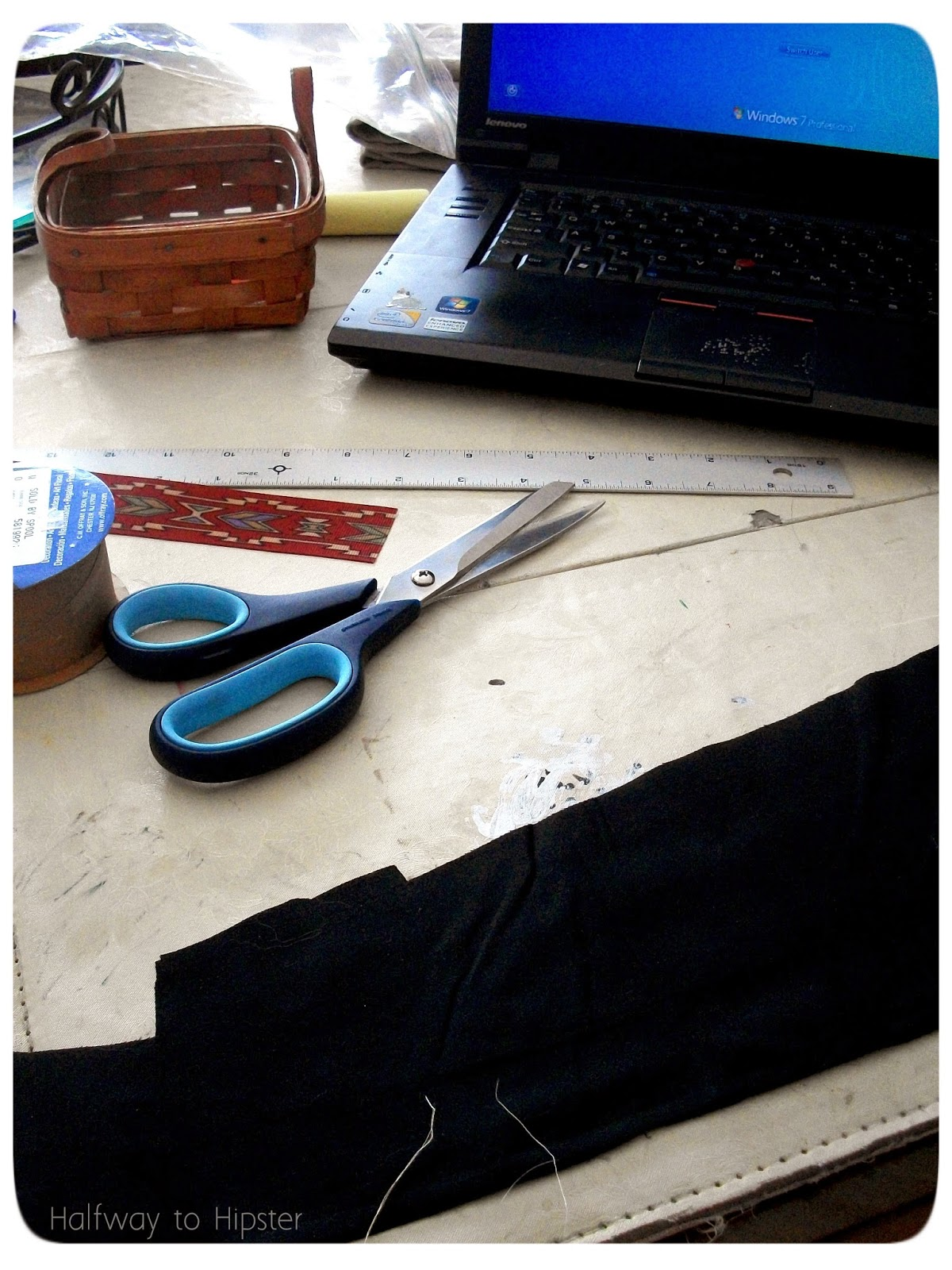 DIY Ribbon Belt