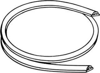 Whirlpool Door Gasket W10509257