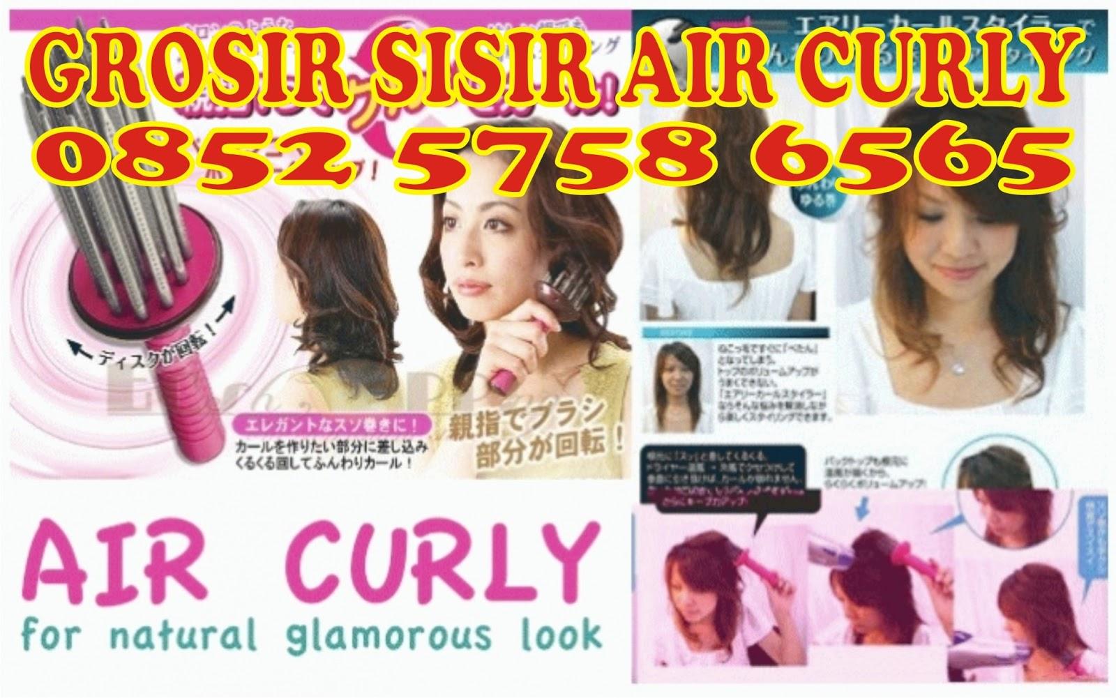 Alat Rambut Salon Kecantikan Buat Keriting Air Curly Hair Styler Sisir By Bu Vero Diposting Oleh Grosir Airy