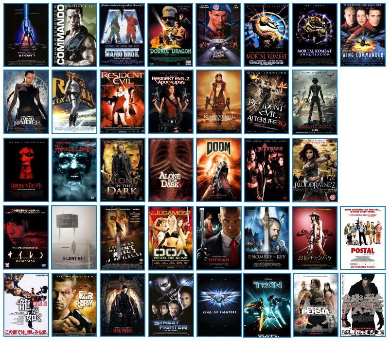 Aburrido o Aburrida?: (mi) Top 10 Películas de Videojuegos.