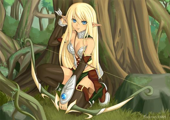 anime elfe