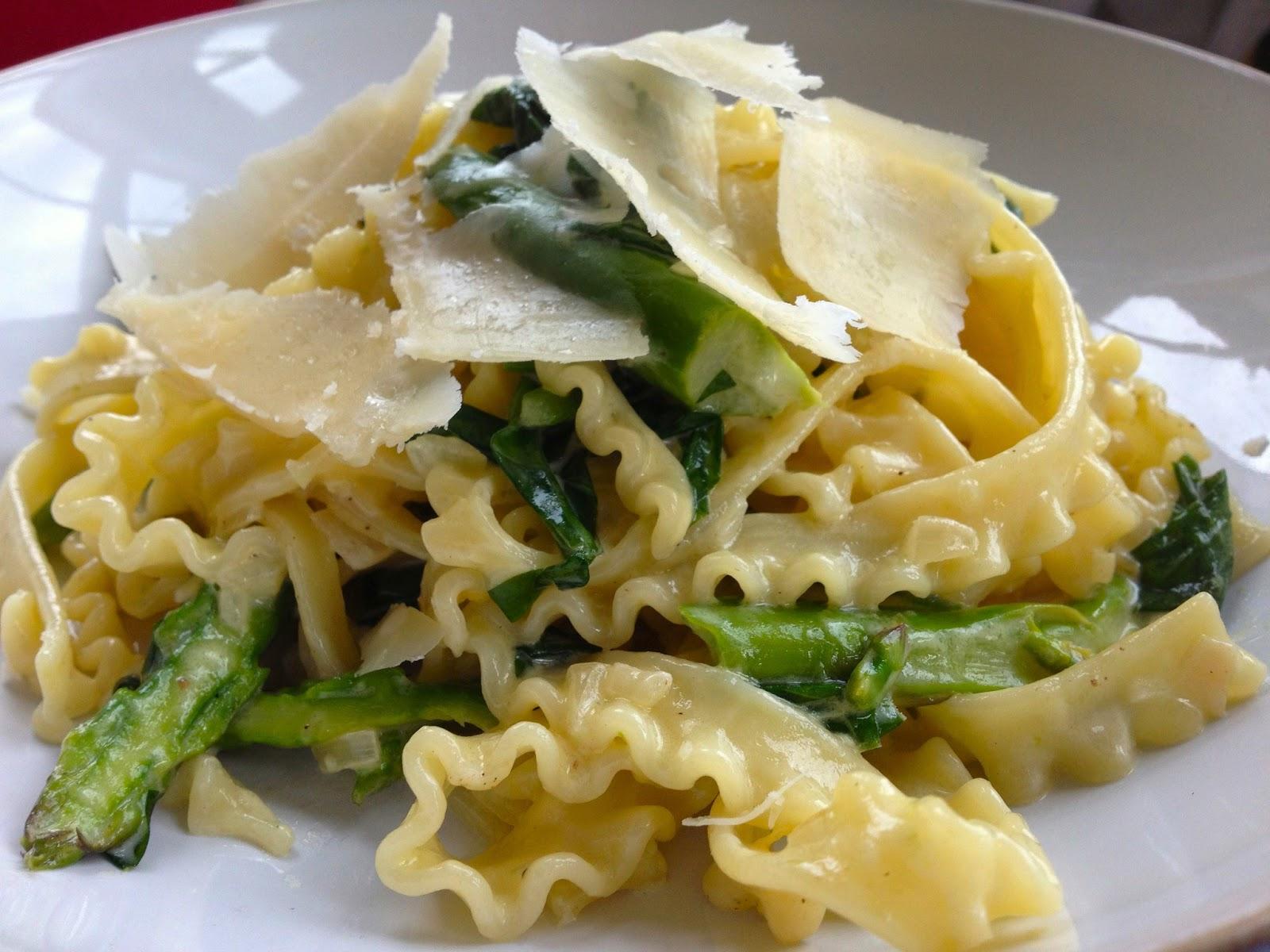 the gannetFORAGINGSpring Pasta and Wild Garlic