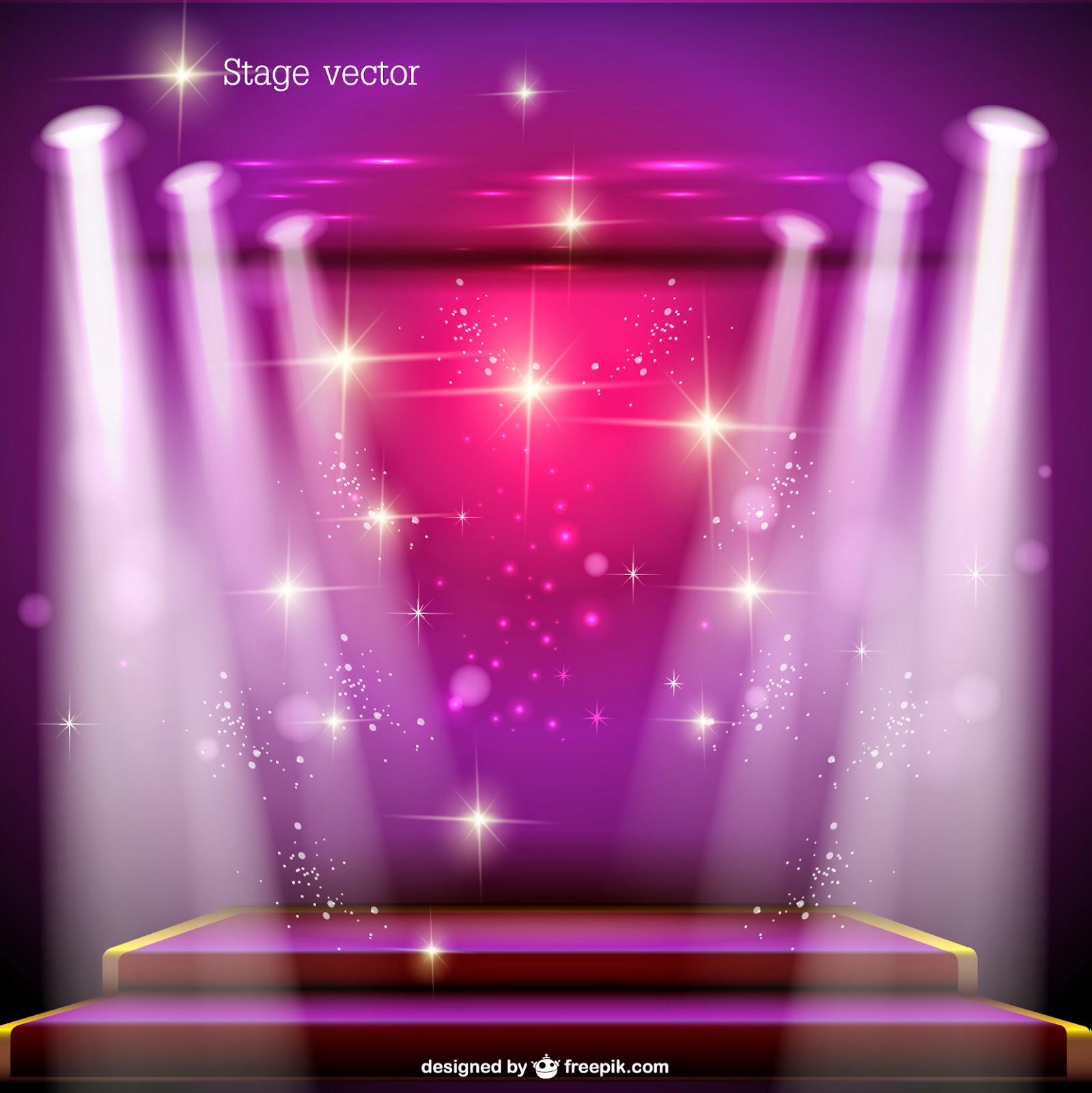 Fondo violeta rosado  para fotomontajes de 15 años en vectores