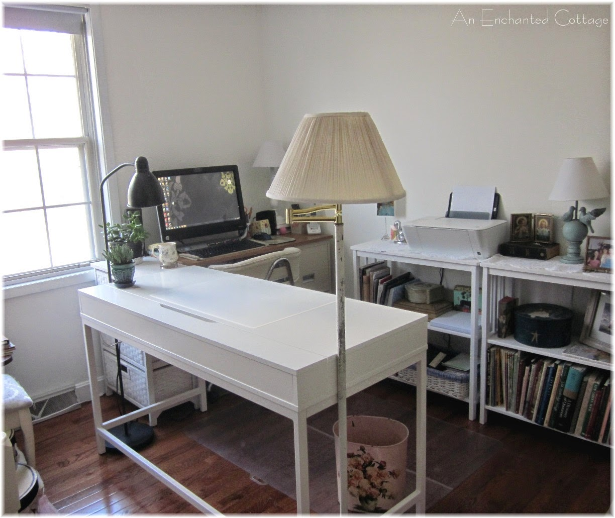 Talk About An Eclectic Array Of Desks In My New Studio/office!