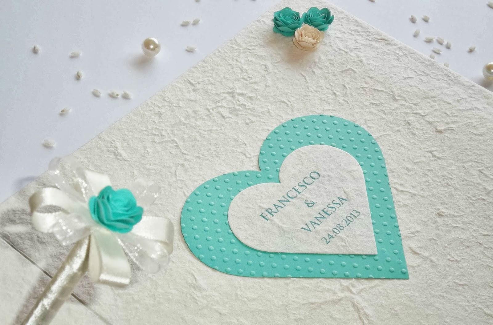 Matrimonio Tema Azzurro : Sara crea matrimonio color tiffany guestbook a tema