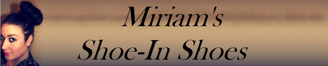 Miriam&#39;s shoe-in shoes