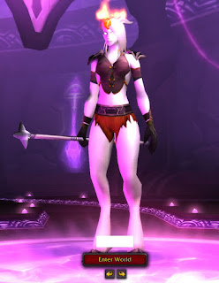 world of warcraft sexy draenei transmog