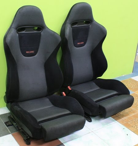 dingz garage seat recaro mitsubishi lancer evo 5 v. Black Bedroom Furniture Sets. Home Design Ideas