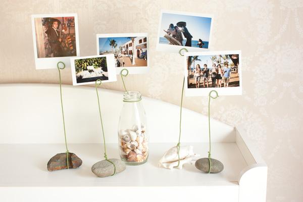 stojaki na zdjęcia z kamieni diy eco manufaktura