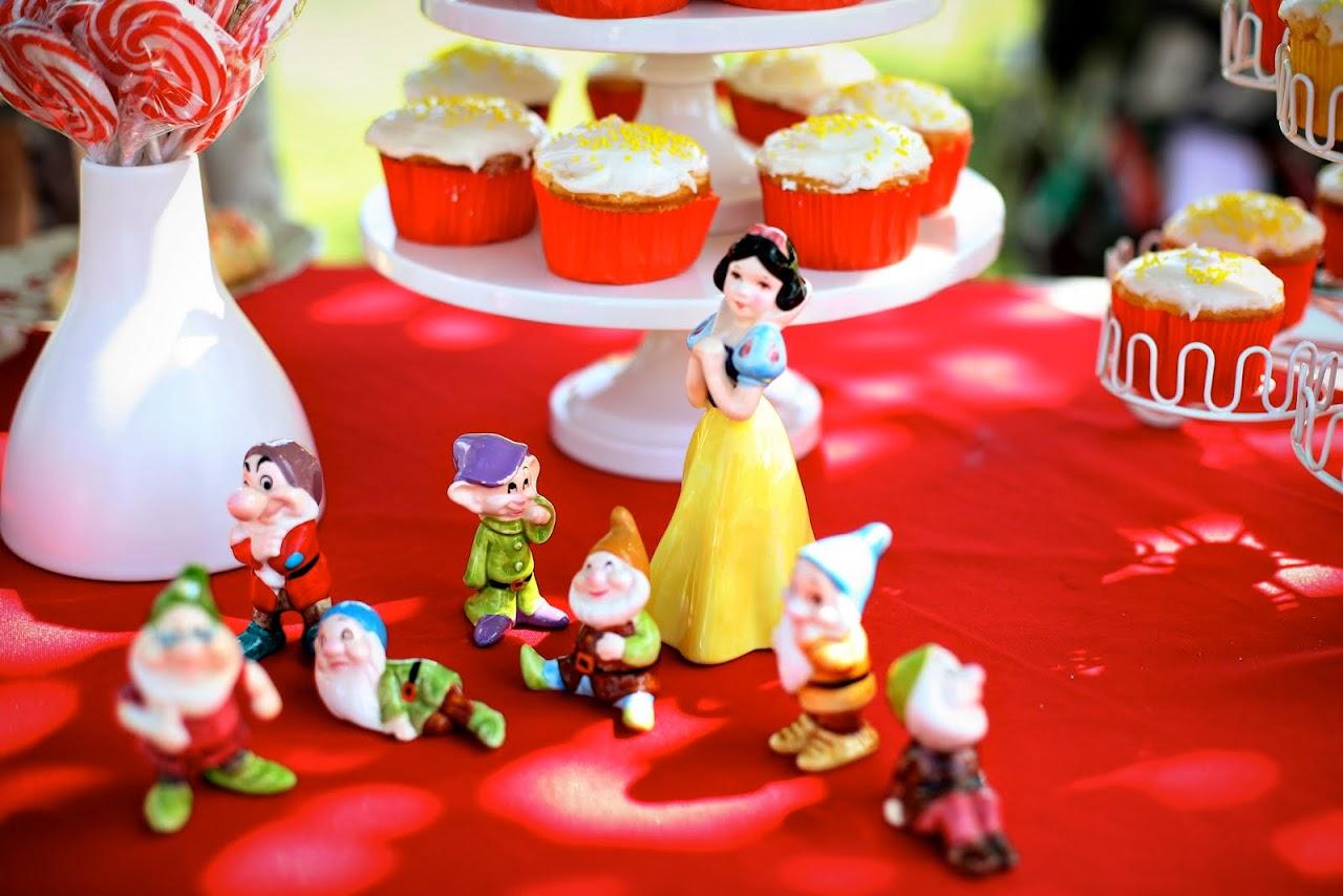 Decoraci  N De Fiestas Infantiles De Blanca Nieves Y Los 7 Enanitos