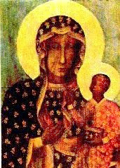 Black Madonna of Częstochowa,Why is she Black?