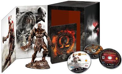 Sony anuncia God Of War: Omega Collection uma edição exclusiva América do Sul