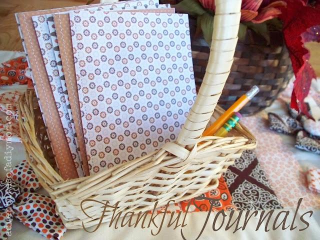 DIY Thankful Journals