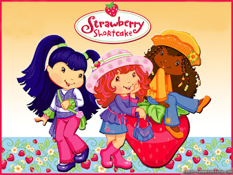 #8 Strawberry Shortcake Wallpaper