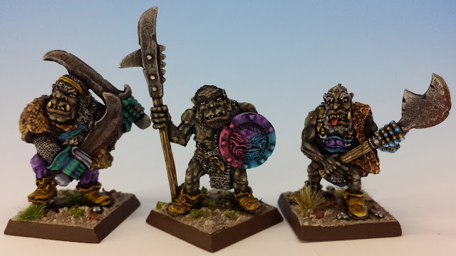 IC601 Black Orcs 10-12, Citadel (sculpted by Bob Olley, 1988)