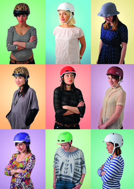 HOT IN A HELMET CAMPAIGN