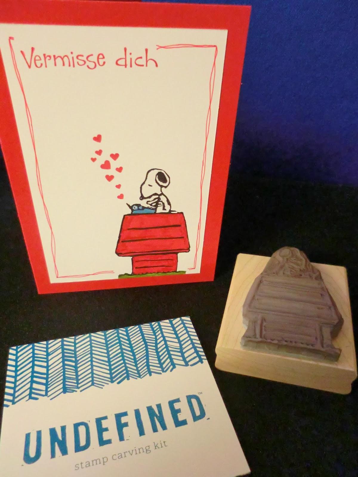 sconebeker stempelscheune snoopy karte mit einem selbst. Black Bedroom Furniture Sets. Home Design Ideas