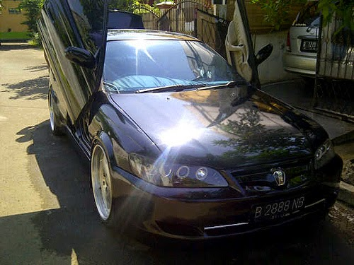 Modifikasi body toyota corona