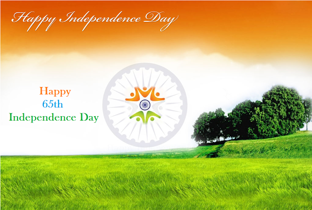 Independence Day of India (65th) Vande Mataram National Anthem Freedom Fighters 15th August
