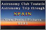 Read Club&#39;s astronomy trip in Spain