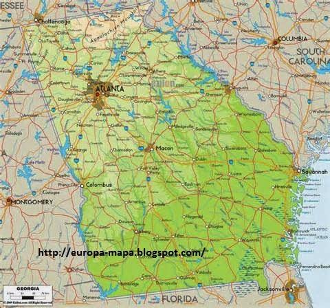 Georgia Rios Mappa - Mapa de georgia