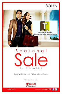 BONIA Seasonal Sale 2012