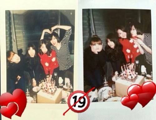 Sulli, Sohyun, Jiyoung & Suzy
