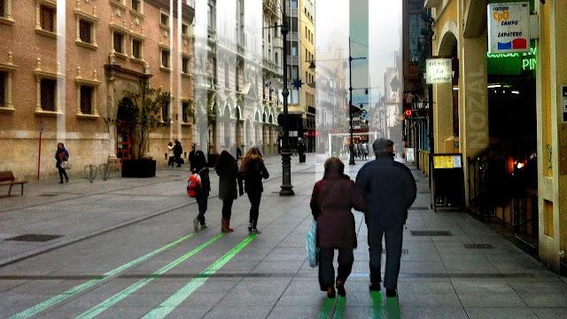 Frío paseo por la calle Mayor, 2013 Abbé Nozal