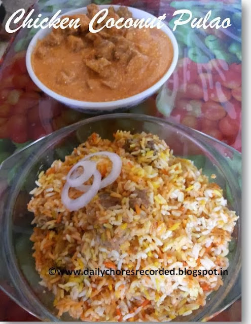 Chicken Coconut Pulao