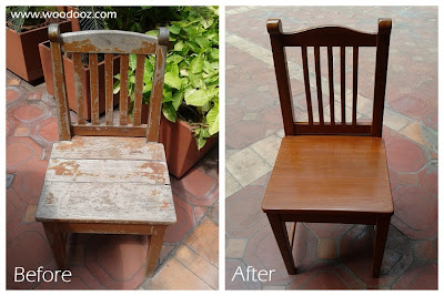Learn to repurpose chairs and tables
