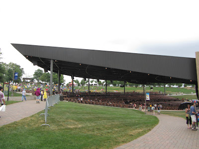 Photo of amphitheater at Bethel Woods Center for the Arts