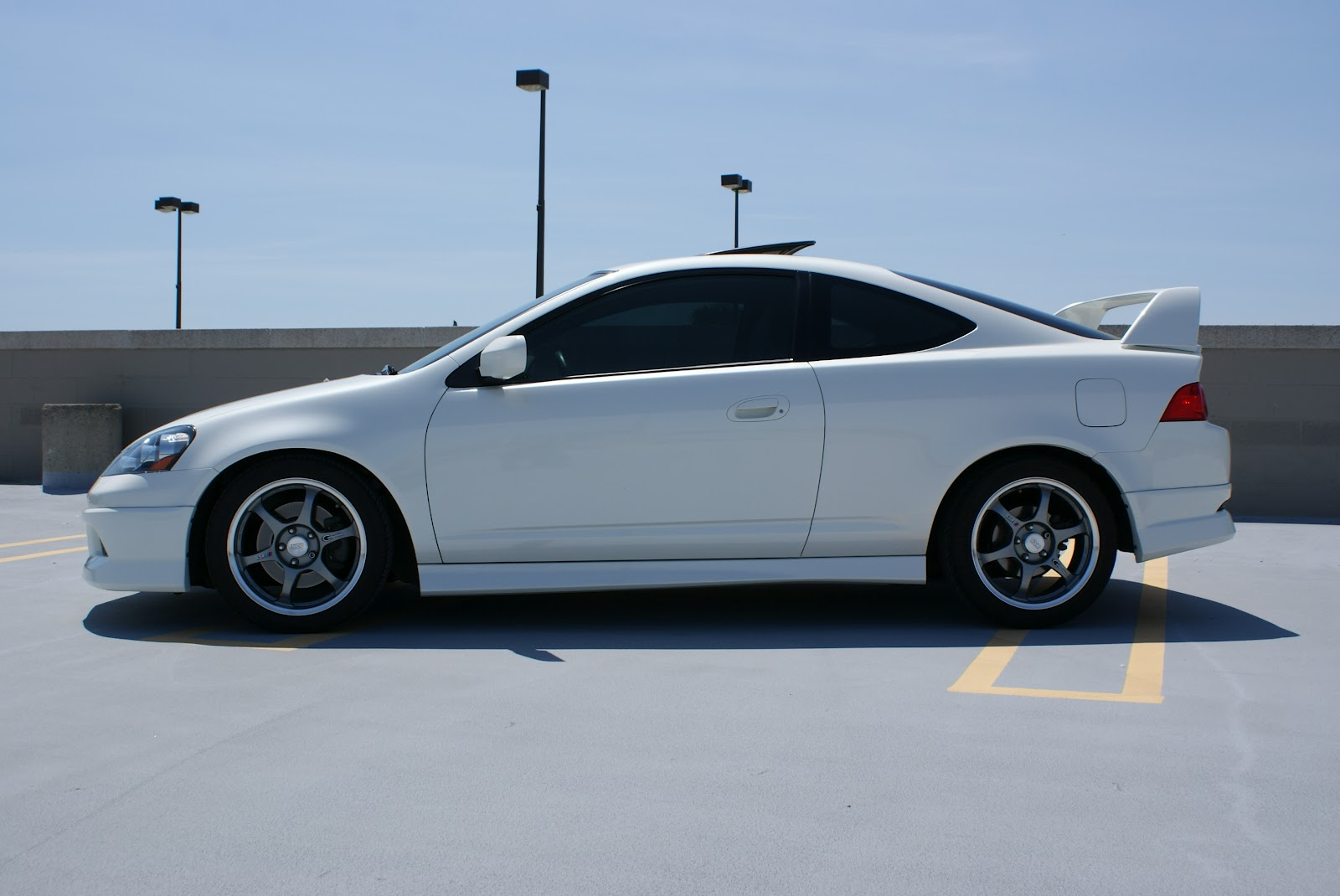 Acura integra side skirt girl perfect!