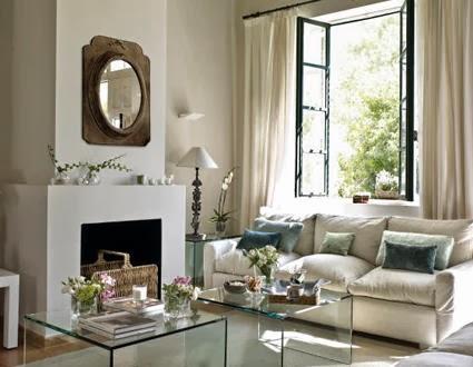 El encanto de los salones cl sicos - Muebles la chimenea catalogo ...