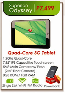 Cherry Mobile Superion Odyssey specs