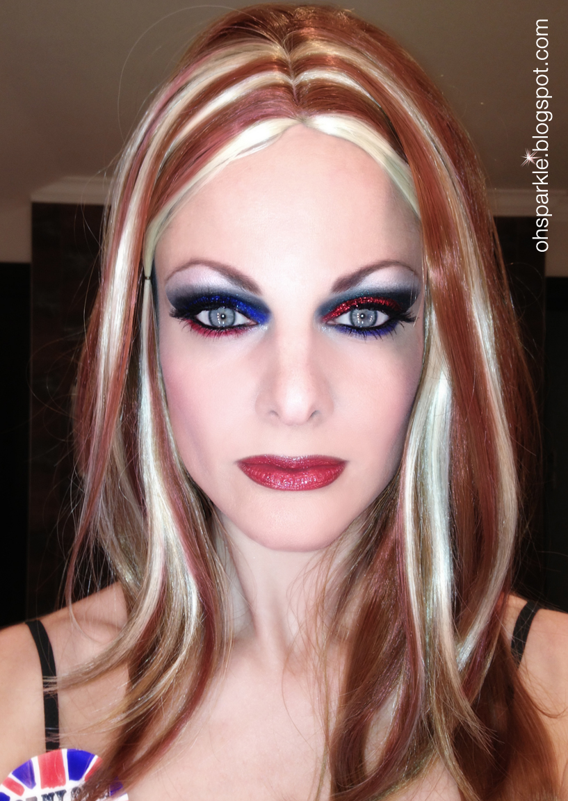 Ginger spice makeup