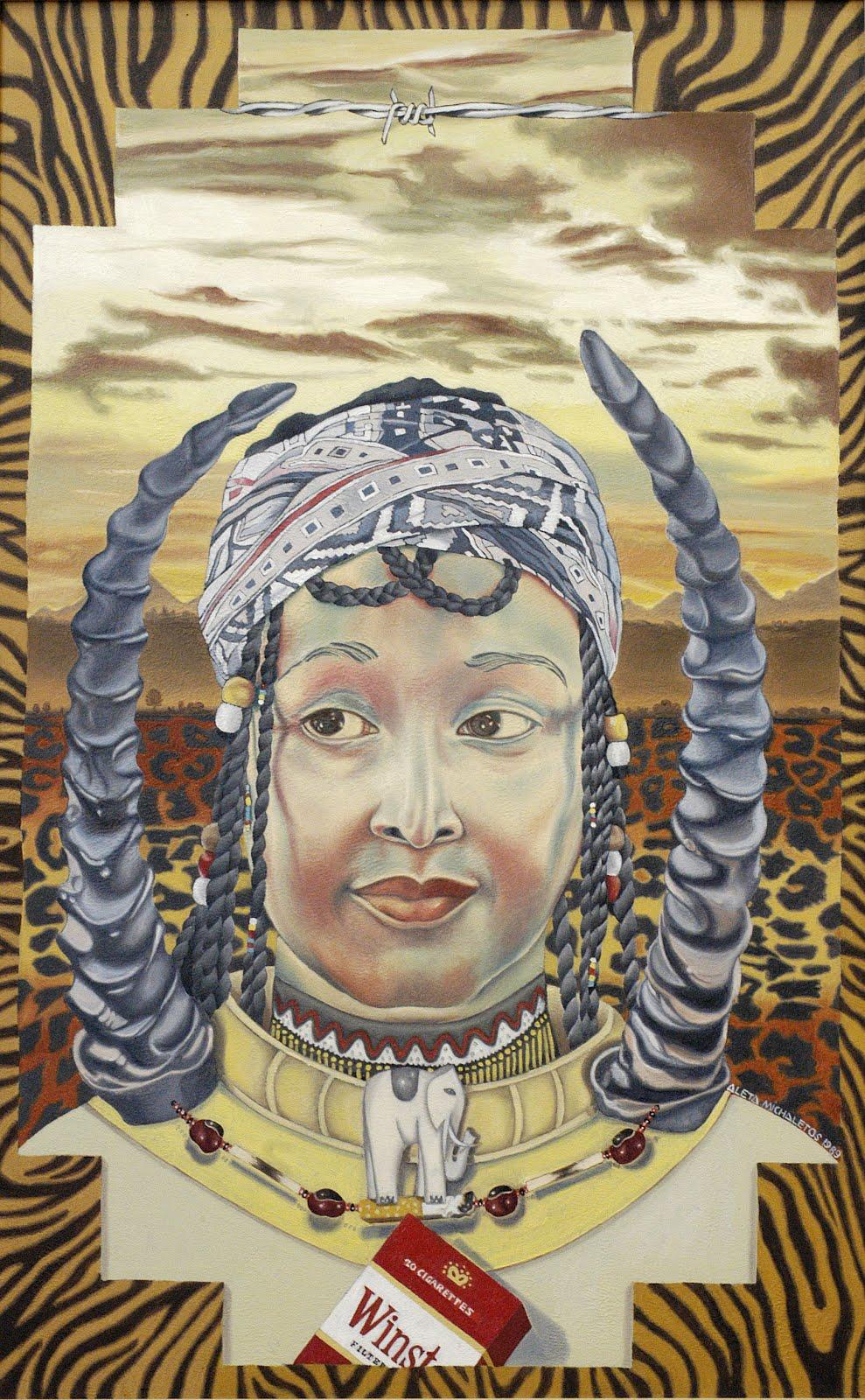 """南非杰出女画家阿丽塔·迈克尔罗特之五:""""文化女王"""" - 六一儿童 - 译海拾蚌"""