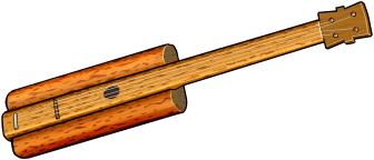 ブラジルの弦楽器:ヴィオラ・デ・ブリチ Viola de buriti / Brazilian musical instruments / Instrumentos musicais brasileiros