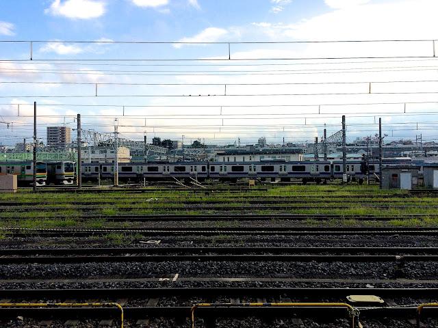 """Oku Station"", Arakawa ( 尾久駅 )"